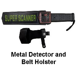 Low Cost Security Metal Detector Wand