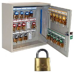 Padlock Security Storage Cabinets - choice of sizes