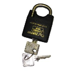 30mm Atlantic - Double Locking Marine Padlock