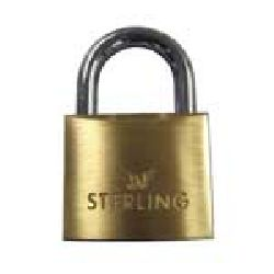 40mm Brass Padlock - Sterling