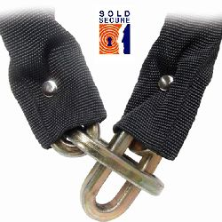 10mm Security Chain Sold Secure Gold - Bicycle