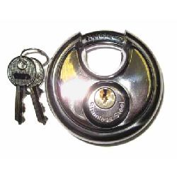 70mm Discus Padlock (10mm shackle)