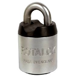 Rotalok High Security Open Shackle Padlock