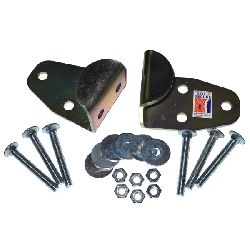 High Security Sold Secure Hardened Steel Hasp & Fixings Set
