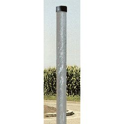 Vialux Galvanised Steel Round Post - 76mm x 3.5mtr