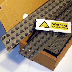 Anti Climb Spikes – Prikla45 (10 pack + Free Warning Sign)