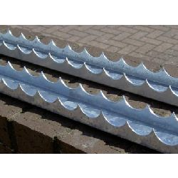 Razor Comb (U channel) security spikes - 1.8 metre length - galvanised finish