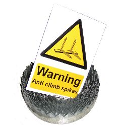 Razor Ribbon - 9 metre roll (includes 1x Hi Viz Warning Sign)
