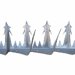 Razor Point- Anti Climb Spikes - 0.4 metre length - galvanised finish