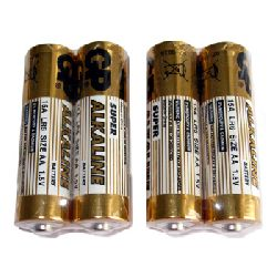 AA Super Alkaline Batteries - pack of 4