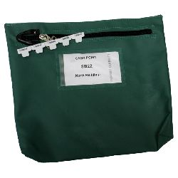 Reusable Zipseal Cash bag size 267 x 267 x 50mm