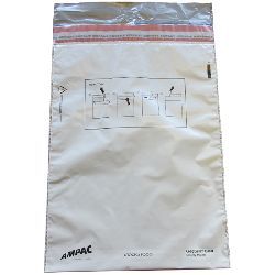 Single Trip Cash / Evidence Bags - Size B (269x360mm / 10.5x14inches) - pack of 100