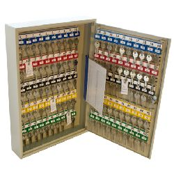 In-Key - key organiser key cabinet (nom capacity; 100 keys ) - adjustable hook bars