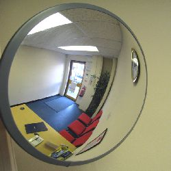 Multipurpose Budget Mirrors with wall fixing bracket - choice of sizes