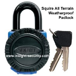 Squire ATL4 - All Terrain Weatherproof 40mm Hardened Brass Padlock