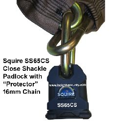 SS65CS and 2 metre Protector 16mm Chain Bundle