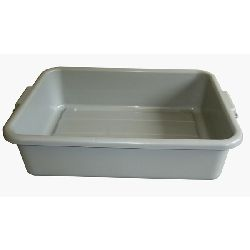 Large Grey Tote Tray