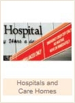Hospitals and Care Homes