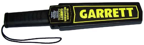 garrett superscanner hand held metal detector