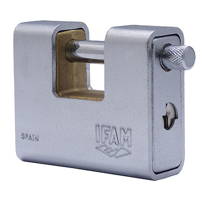 IFAM 80mm high security armoured shutterlock