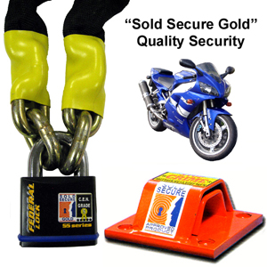 High Security packs for motorcycles