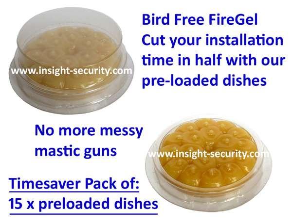 Bird Free Fire Gel - Instantly Effective Bird Deterrent