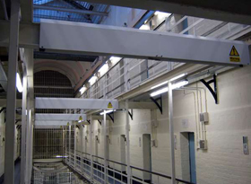 HMP Winchester - beam covers