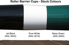 roller barrier cups - stock colours