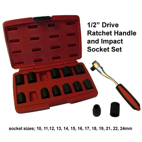 ratchet handle and socket set