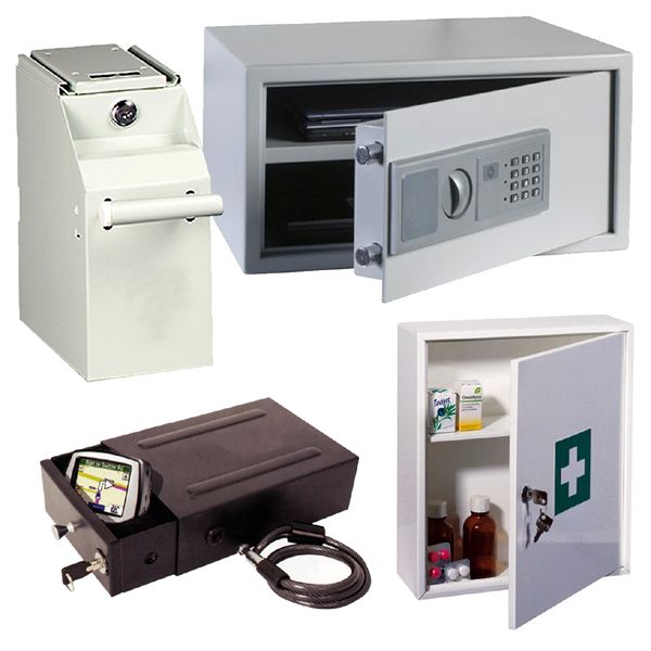 safes and cabinets for valuables